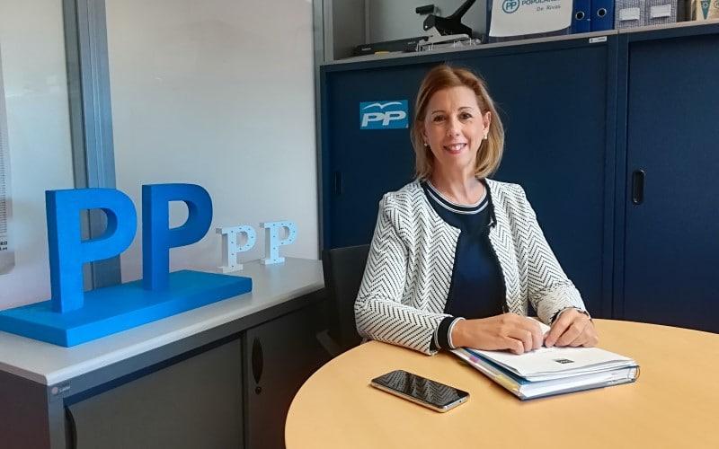 Janette Novo (PP de Rivas): «El momento de estudiar ya pasó: ahora es el momento de implementar las ayudas contra la pandemia»