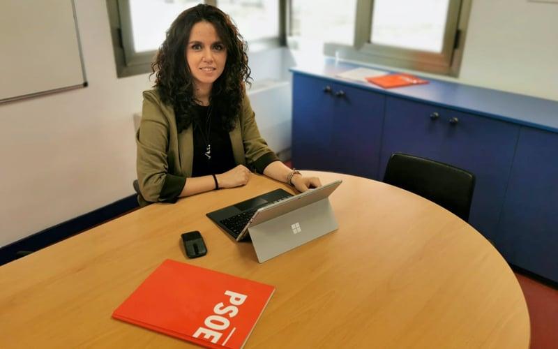 Mónica Carazo, portavoz del PSOE y vicealcaldesa de Rivas