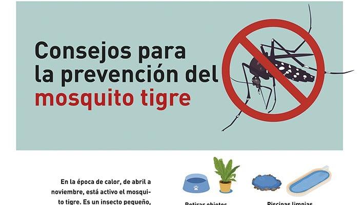 Detectada la presencia del mosquito tigre en Rivas: estas son las recomendaciones para evitar su proliferación