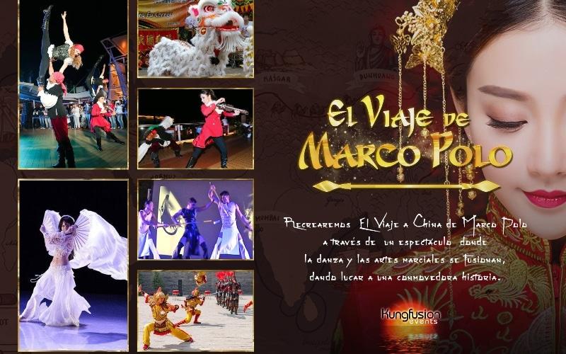 Danza y artes marciales: 'El teatro de Marco Polo'