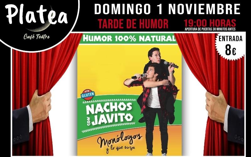 Tarde de risas con el humor de Nachos y Javito en Café Teatro Platea
