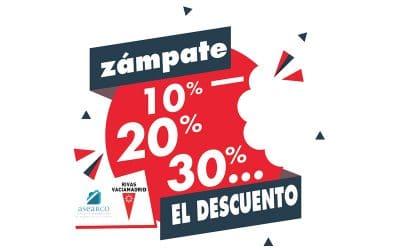 La campaña para visibilizar el comercio de Rivas 'Zámpate el descuento' llega a su fin con el sorteo de 70 premios