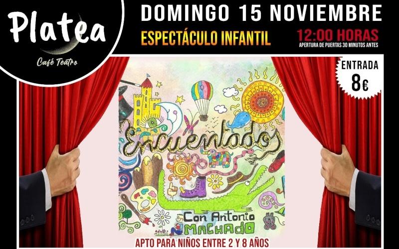 'Encuentados': espectáculo infantil en Café Teatro Platea