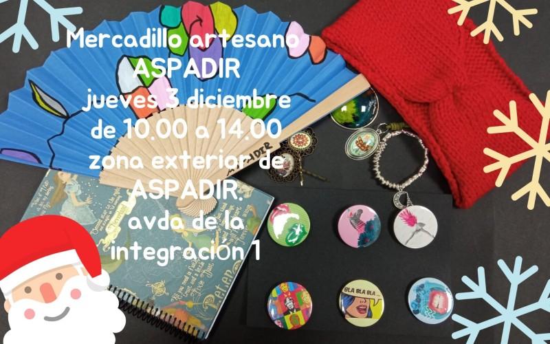 Mercadillo artesano de ASPADIR