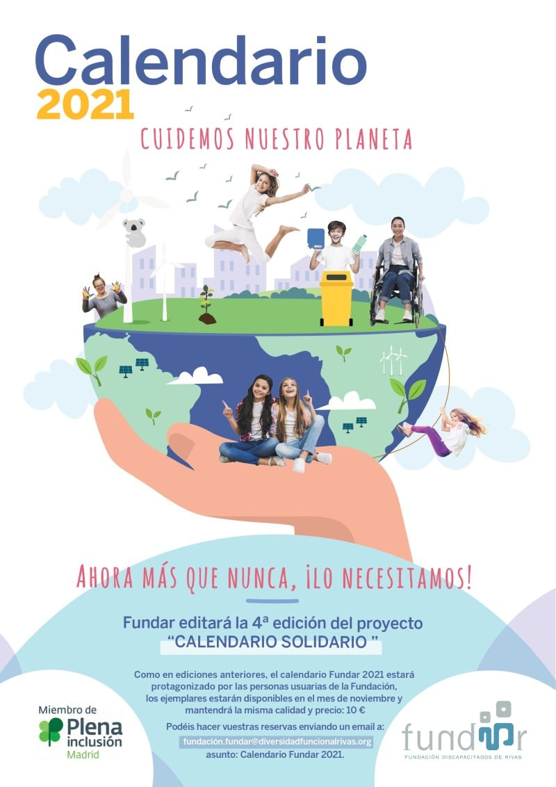 Calendario Solidario Fundar