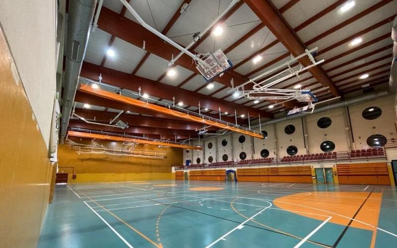 Nueva cubierta del polideportivo Parque del Sureste