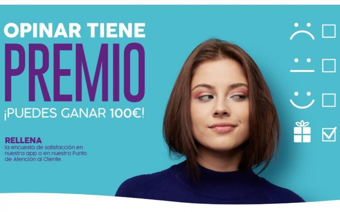 Opinar en H2O tiene premio: participa en su encuesta y podrás ganar un vale de 100 euros