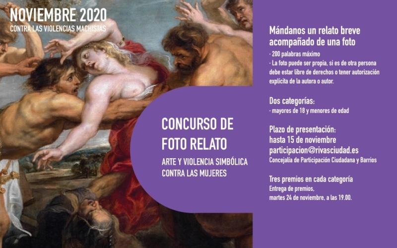 El Ayuntamiento de Rivas convoca un concurso de fotorrelatos sobre el arte y la violencia simbólica contra las mujeres