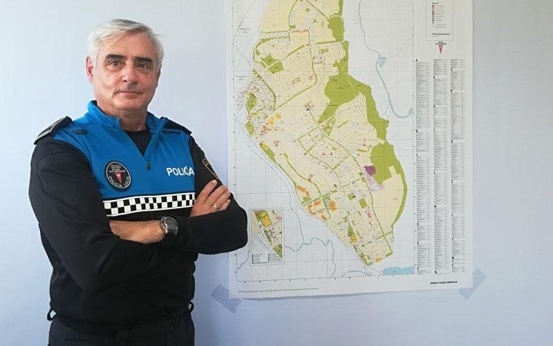 Leonardo Lafuente, jefe de Policía de Rivas: «Estamos preparando un plan para evitar dobles o triples filas en los colegios»