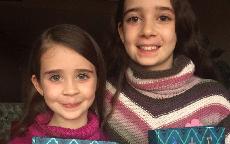 Dos niñas de Rivas, autoras de sendas ilustraciones en el nuevo libro de J.K. Rowling