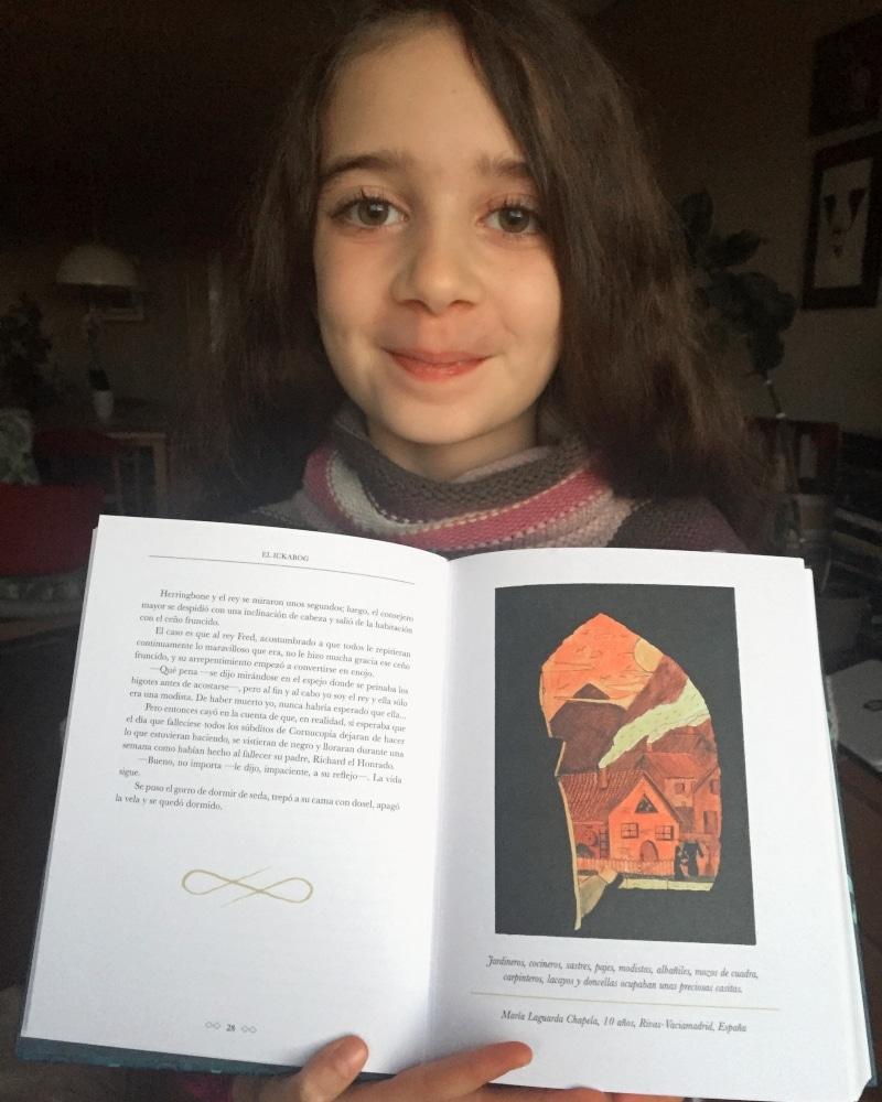 María Laguarda y su ilustración en 'El Ickabog'
