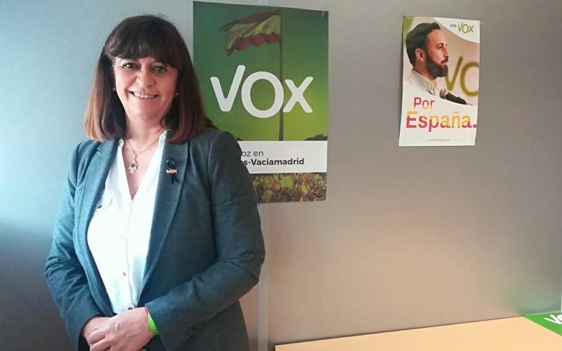 María Ángeles Guardiola, concejala de Vox en Rivas Vaciamadrid 4