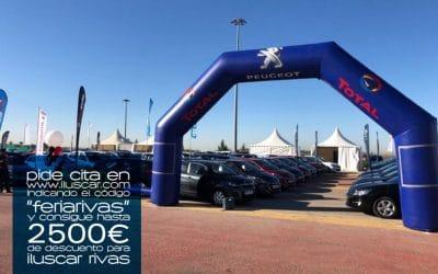 Feria del Automóvil de Rivas 2020: hasta 2.500 euros de descuento en vehículos nuevos y de ocasión en Iluscar