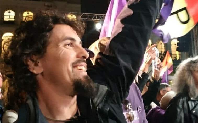 Sergio Jiménez, candidato a la portavocía de Podemos Rivas, aboga por la «separación de cargos» en la organización