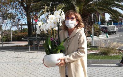 Toñi, matrona del Centro de Salud Santa Mónica, se jubila