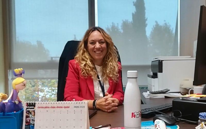 Vanessa Millán, portavoz de Podemos en el Ayuntamiento de Rivas Vaciamadrid y concejala de Transición Ecológica