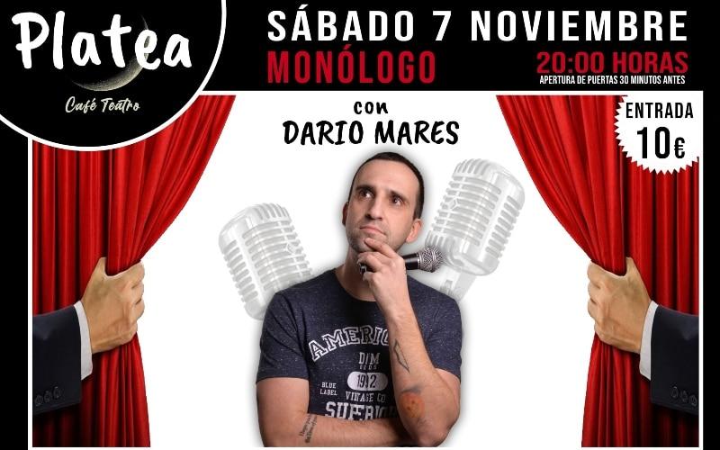 Darío Mares Café Teatro Platea