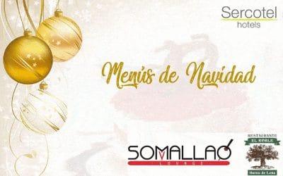 Los restaurantes Somallao y El Roble lanzan sus menús especiales de Navidad, también para disfrutar en casa