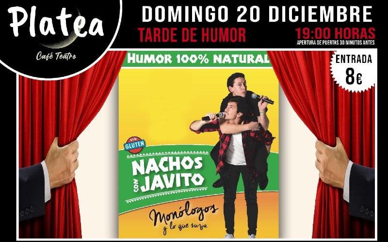 'Nachos con Javito': Comedia en directo en Platea Café Teatro