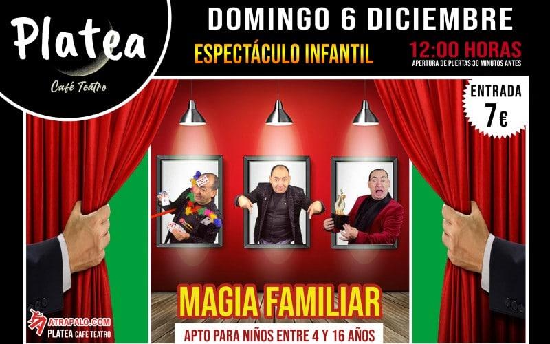 Magia para toda la familia en Café Teatro Platea