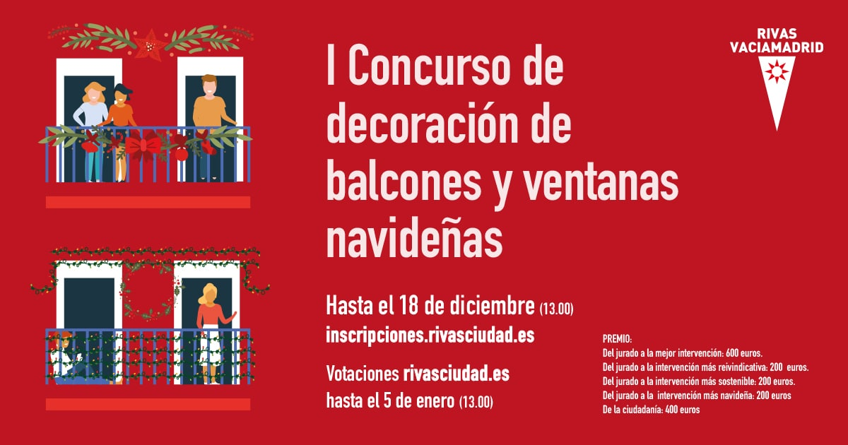 Concurso de balcones Navidad