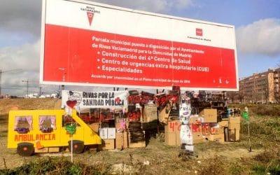 Rivas con la Sanidad Pública continúa reivindicando que se resuelvan las necesidades sanitarias de la ciudad