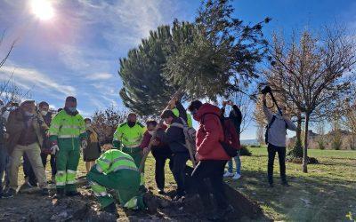 Rivas conmemora el Día de la Diversidad Funcional con una plantación de árboles en el Parque Bellavista
