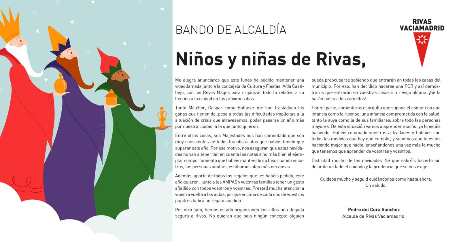 Bando municipal Rivas Reyes Magos