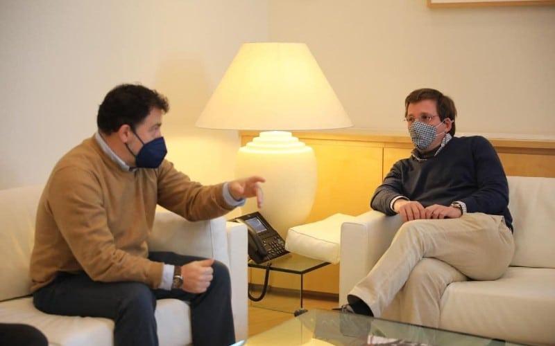 Reunión de Pedro del Cura y José Luis Martínez Almeida