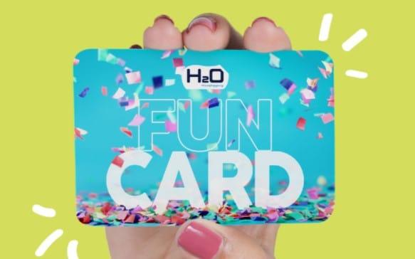 Fun Card: la tarjeta VIP virtual del Centro Comercial H2O