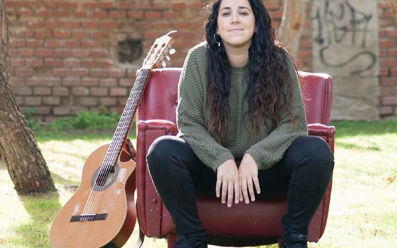 La cantante María Ruiz llega a Rivas