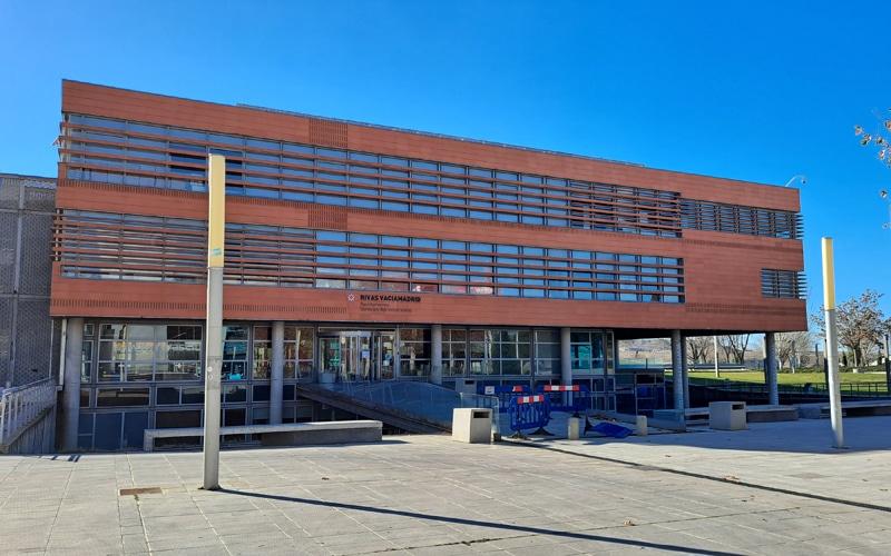Edificio de servicios administrativos del Ayuntamiento de Rivas Vaciamadrid