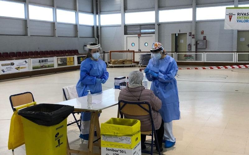 Tests de antígenos en Rivas