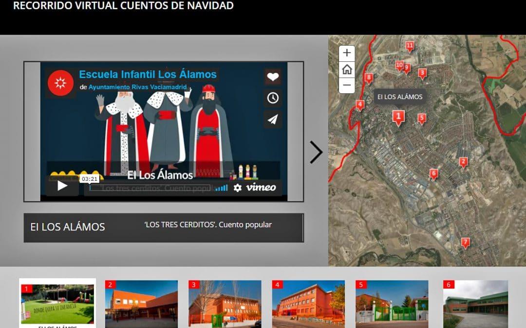 Así es la 'Cabalgata virtual' de cuentos de Navidad organizada por las ampas de Rivas