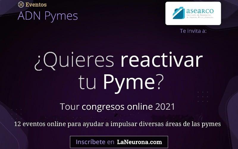 'ADN PYMES', doce congresos online gratuitos para los asociados de ASEARCO