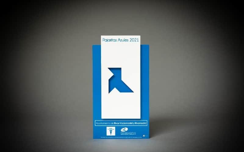 El Ayuntamiento de Rivas y Rivamadrid mantienen la distinción 'Pajarita Azul' por la gestión de la recogida de papel y cartón