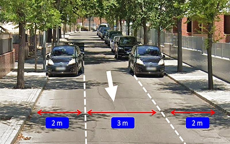 Nuevas plazas de aparcamiento en la calle de Juan Antonio Bardem