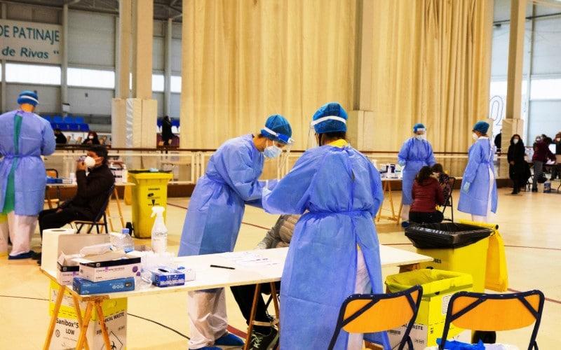 Tests de antígenos en el Cerro del Telégrafo