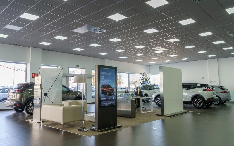 Exposición Peugeot en Rivas Vaciamadrid, en 2015