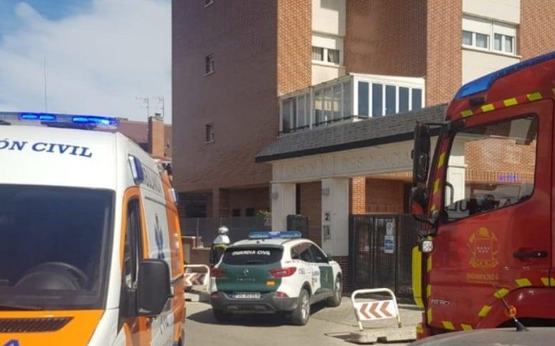 Tres heridos en el incendio de una vivienda en Rivas Vaciamadrid