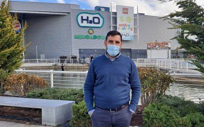 Pedro Estellés, gerente de H2O: «Somos la 'plaza del pueblo' de Rivas»