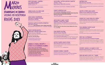 Rivas dedica su 'marzo mujeres' a los feminismos cotidianos y de barrio