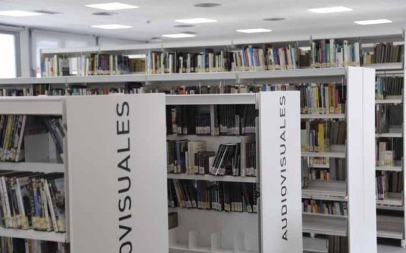 Nueva biblioteca del centro cultural Federico García Lorca