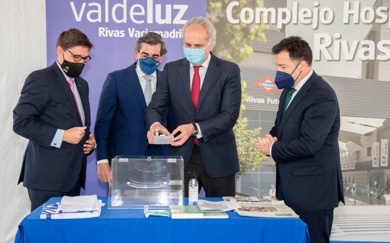Arrancan las obras del Hospital HM y la residencia Valdeluz en Rivas Futura