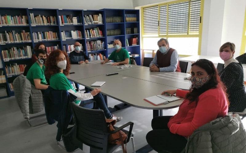 Reunión entre Más Madrid, Ayuntmaiento de Rivas y comunidad educativa