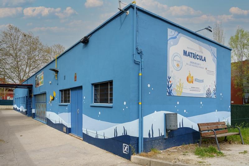 Así son las escuelas infantiles Nemomarlin Rivas