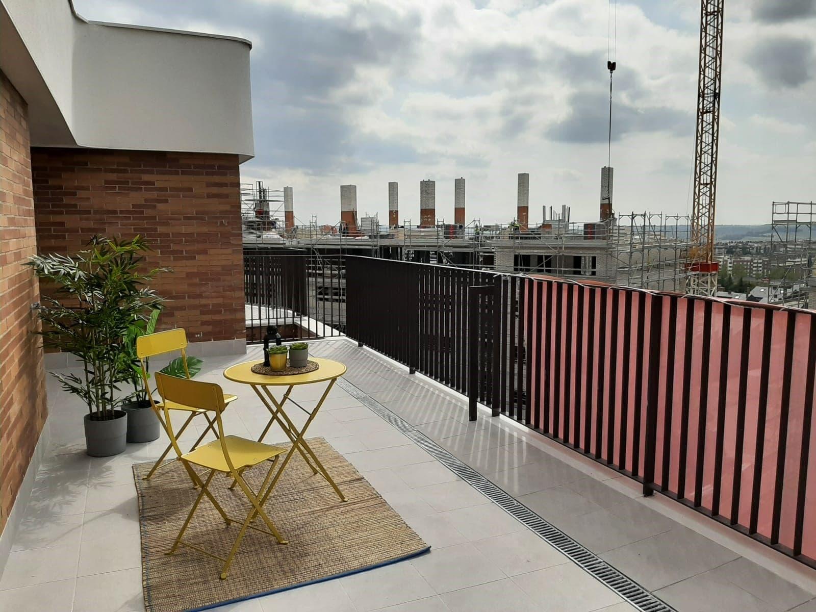 Terraza áticos Residencial Melbourne