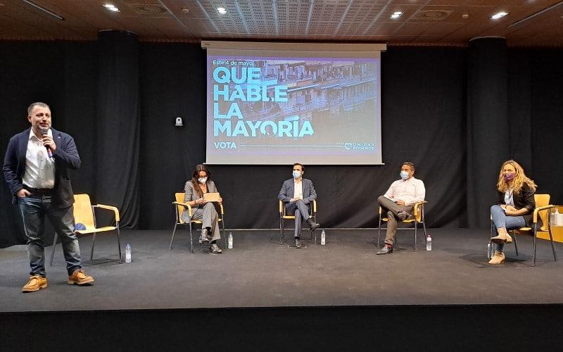 Unidas Podemos llama en Rivas a votar el 4-M «contra la derecha y la desigualdad»