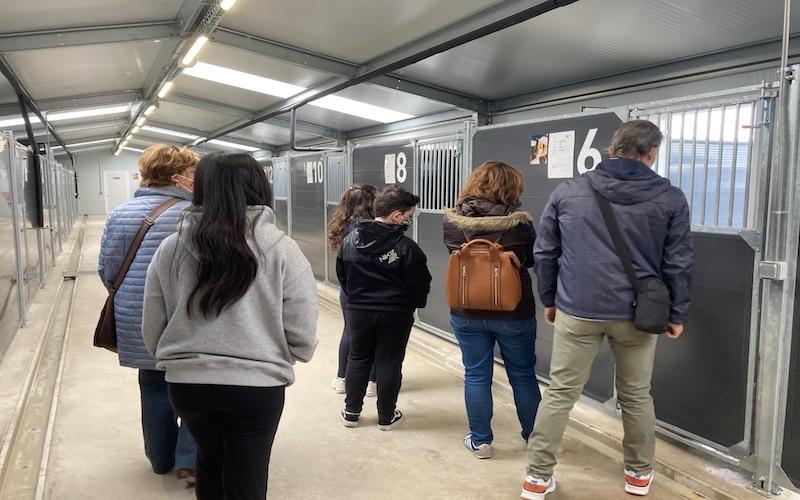 Ciudadanos ripenses en la visita guiada al Cipar