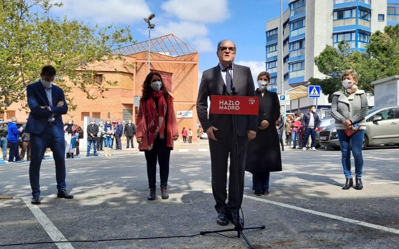 Ángel Gabilondo visita Rivas Vaciamadrid acompañado de Hana Jalloul, Mónica Carazo, Omar Anguita y Carmen Barahona